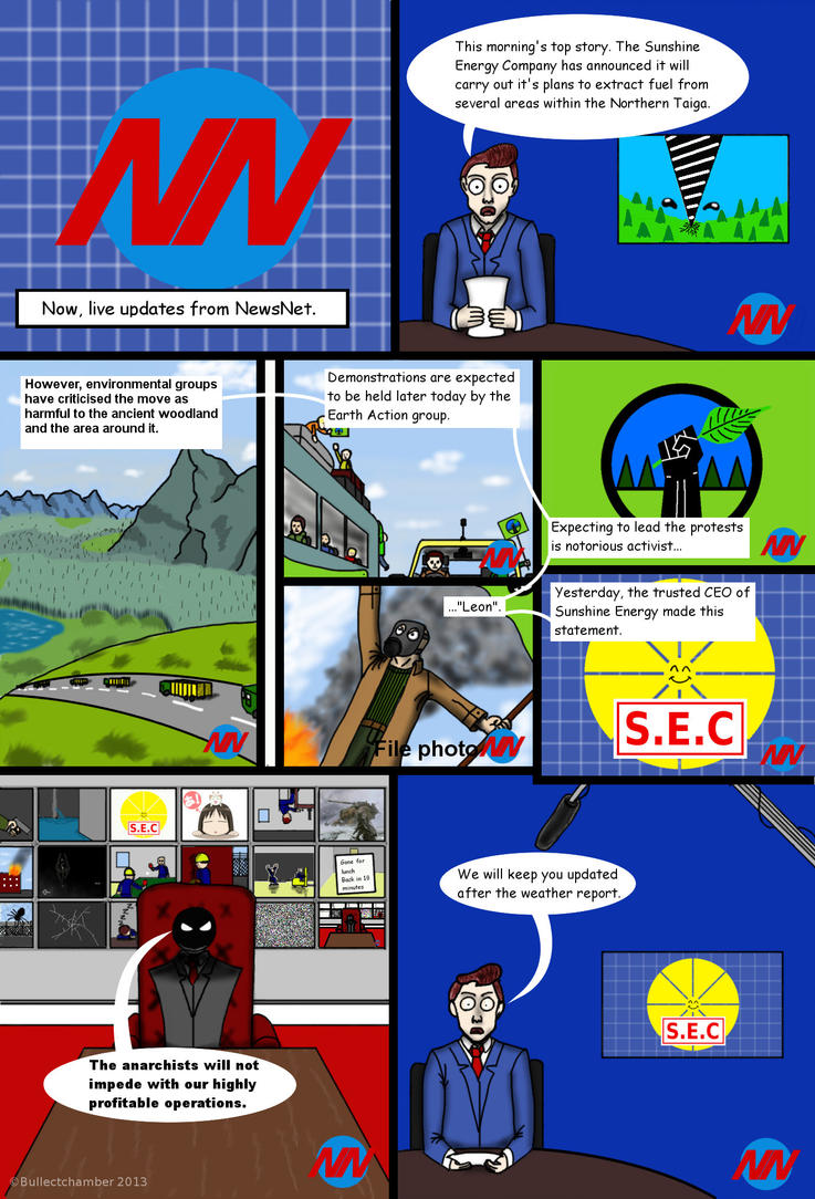 Taiga Warfare page 1 English by BulletChamber