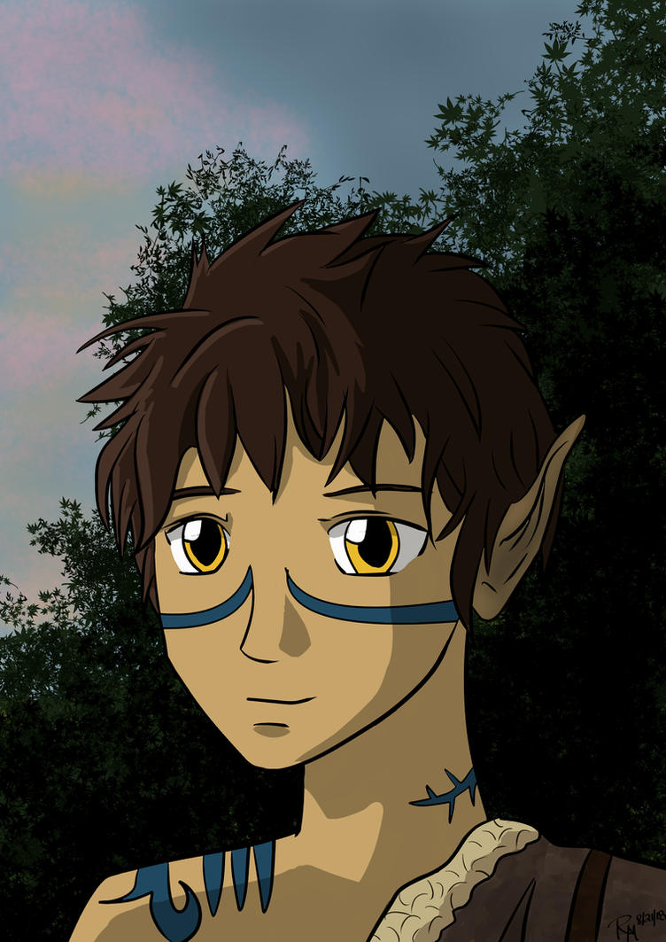 quinlan_the_wood_elf_by_lilwolfe006-dckt