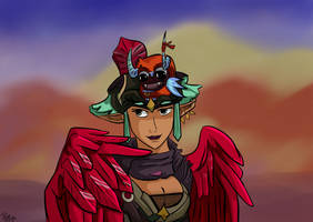 Birds of a Feather - Pamitha and T'izo