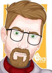 Gordon Freeman Portrait
