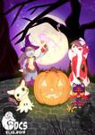 Pokemon Halloween 2019 by DeerCrowShadow