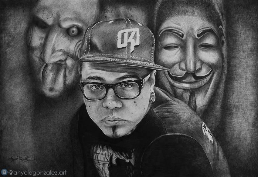 Dibujo de Yomico Moreno Anyelo Gonzalez