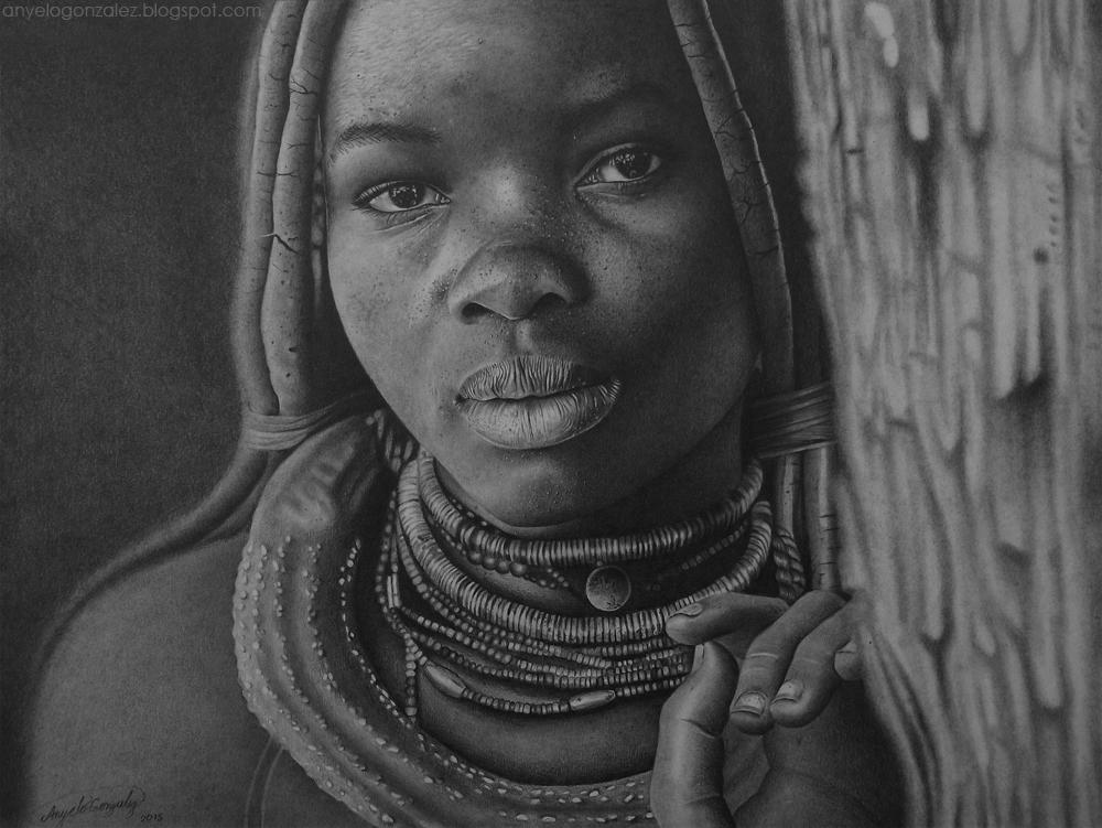 Nina Himba by AnyeloGonzalez