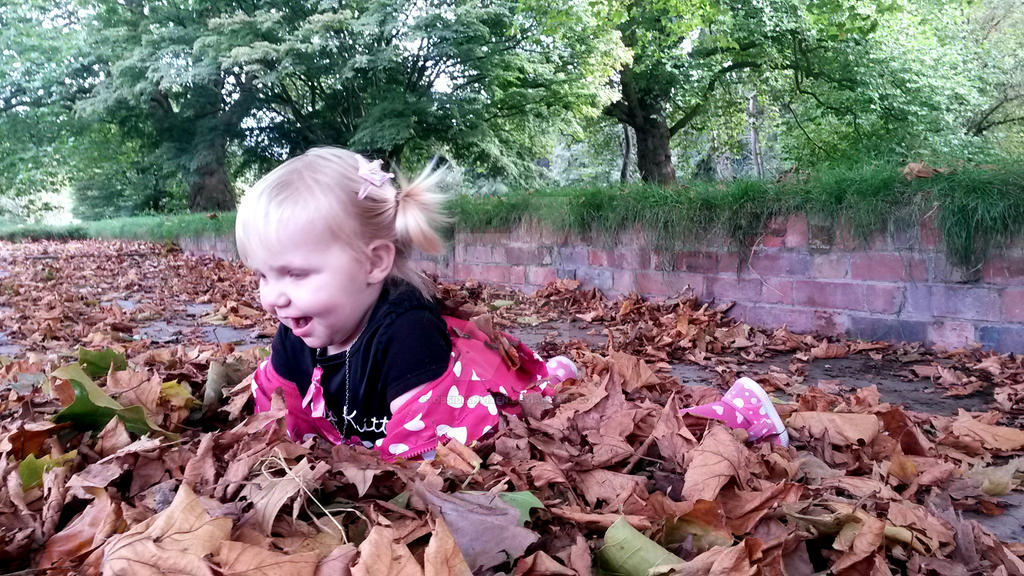 Autumn Fun by ObsidianVixen