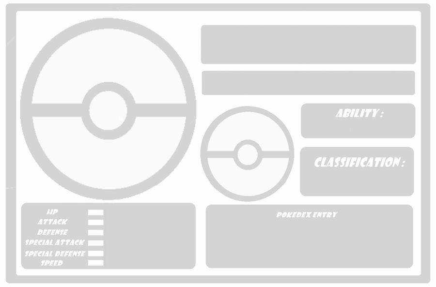 Pokemon: Template no evolution by Trueform on DeviantArt