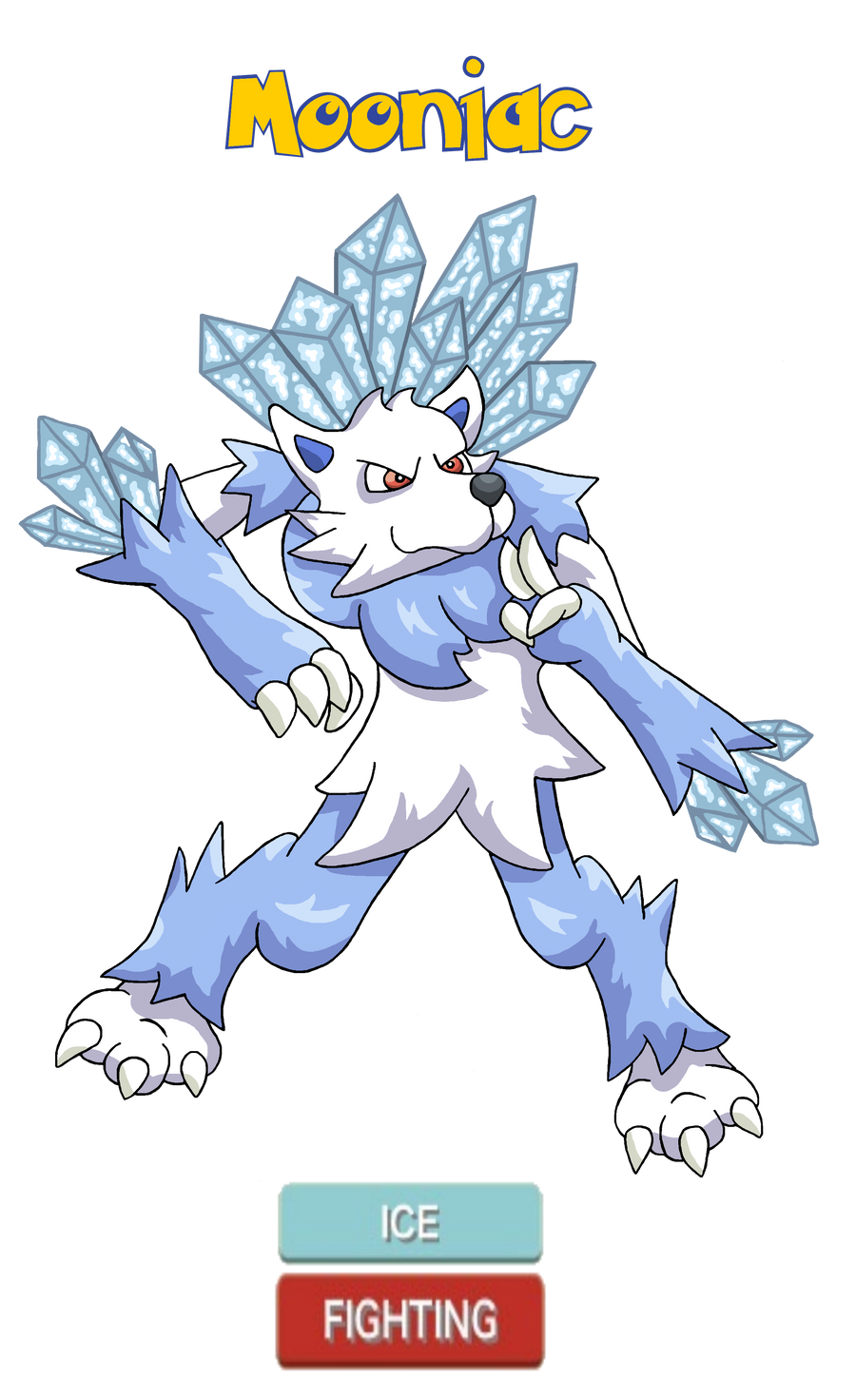 Commission - Kiyofo's Fakemon, Mooniac by Trueform