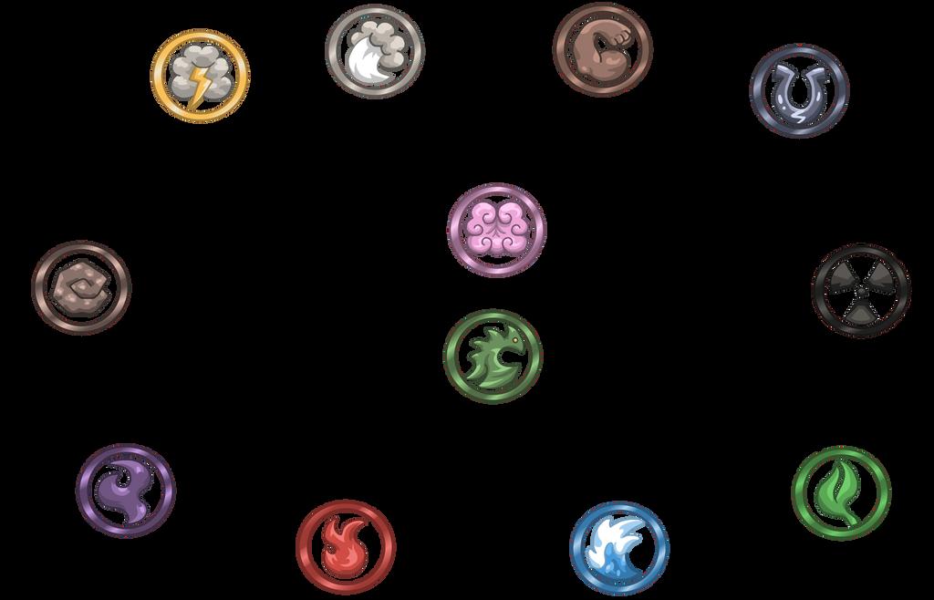 Elemental Eye Symbols By Trueform On Deviantart