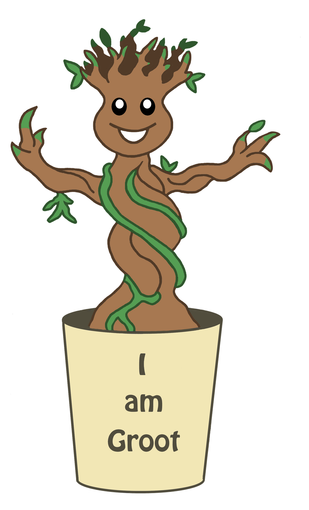 I Am Groot I am Groot by Trueform...