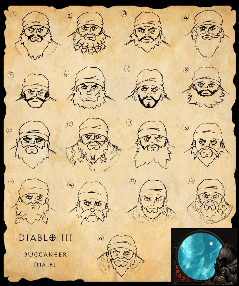 Diablo III fan class - Buccaneer by Trueform