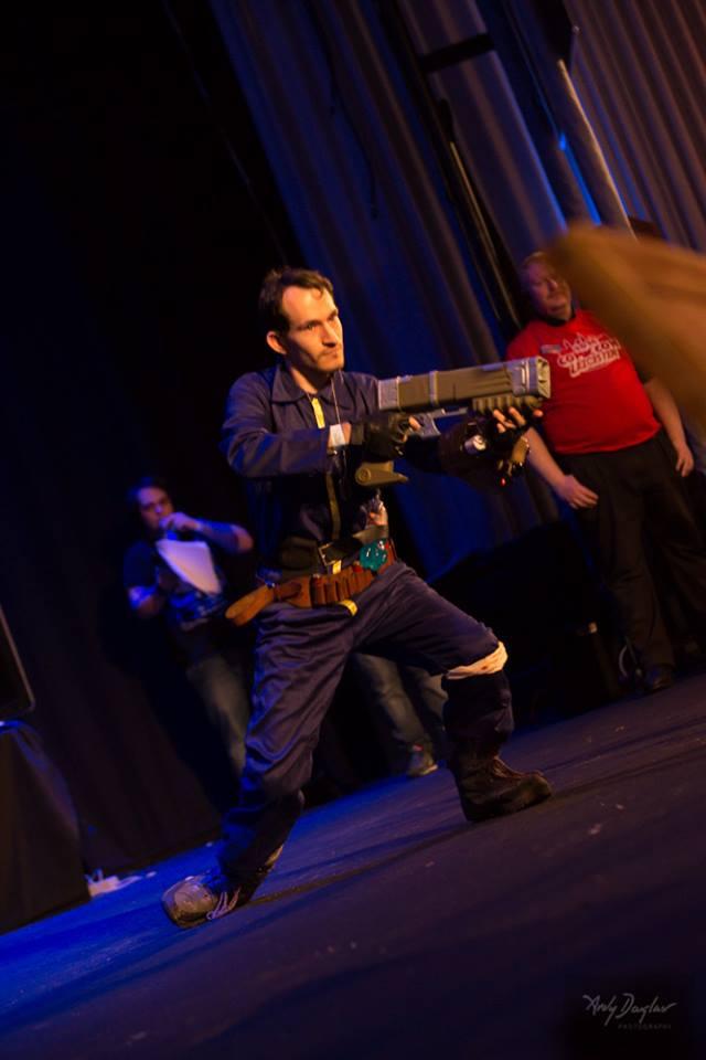 Comic Con Leicester 2016 - Masquerade 3 by Trueform