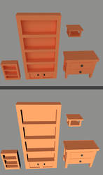 Low Poly Furniture