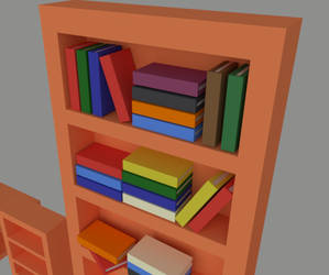 Bookshelf... with books
