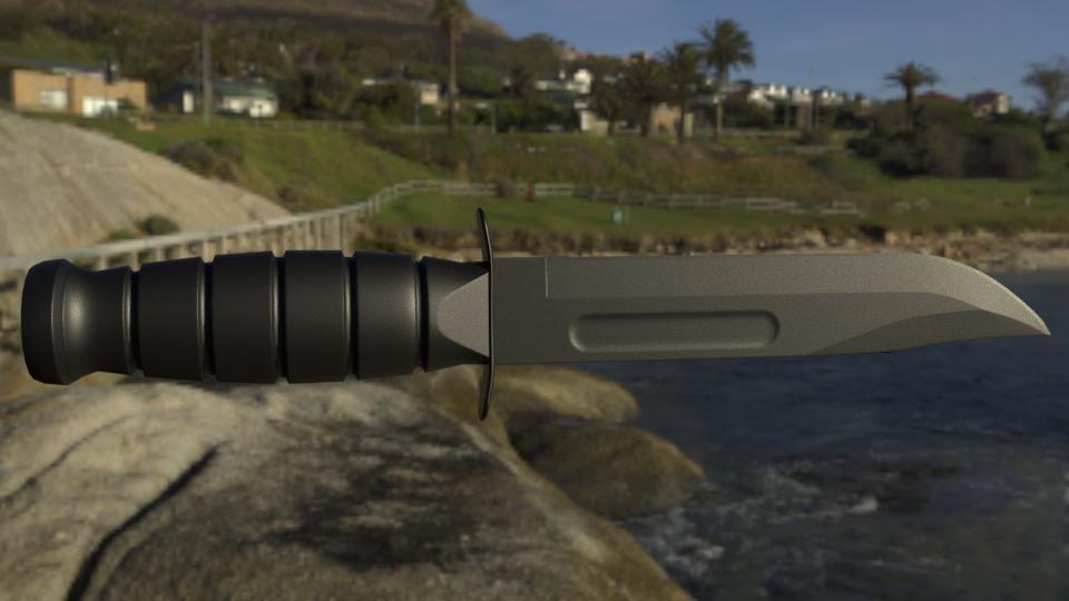 Combat Knife by Trueform