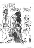 .Naruto vs Kingdom Hearts. by Cintillo