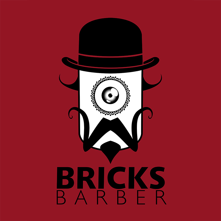 Bricks Barber Logo by recipeforhaight