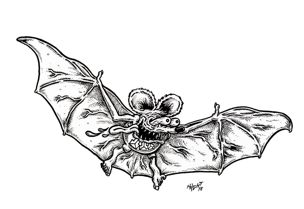 Rat Bat Fink by recipeforhaight