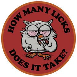 How Many Licks?