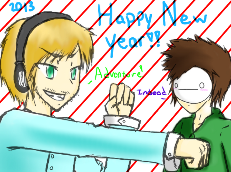 Happy New year Bros by Derian-Ryousaki