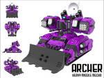 ARCH3R - Heavy Missile Mecha