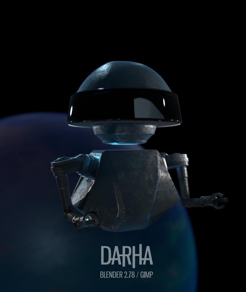 Robot Concept by DarhaART
