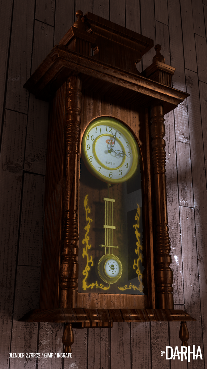 Clock Challenge by DarhaART