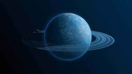 The planet Blueex