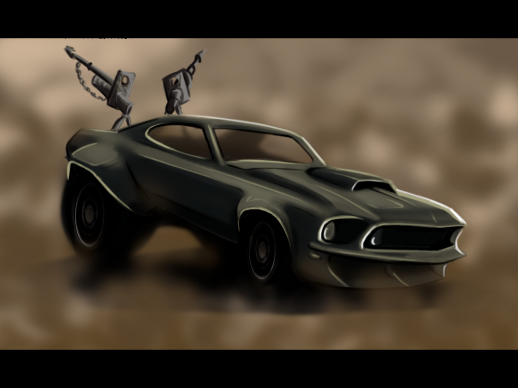 Mad max inspired mustang by hangoverqueen on deviantart
