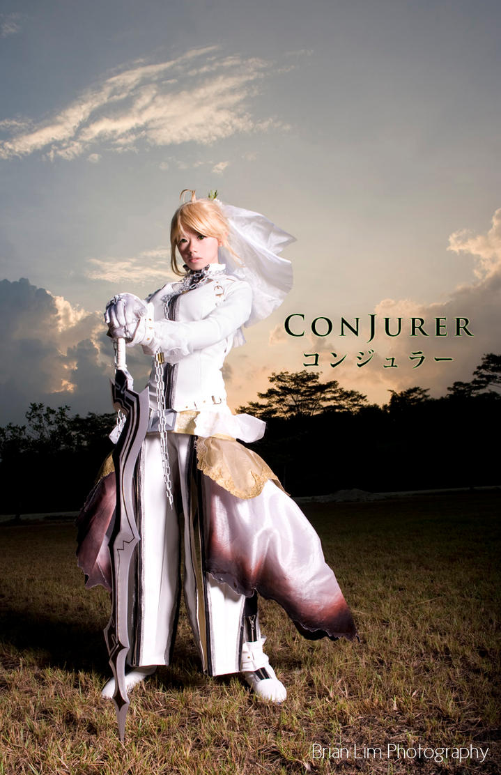 Saber Bride - Battle Variant by ConJurer-CJ