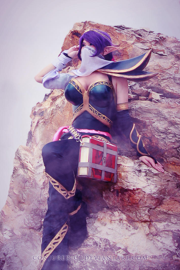 DotA 2: Lanaya the Templar Assassin by ConJurer-CJ