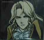 Alucard (Dawn of Sorrow) Cross Stitch
