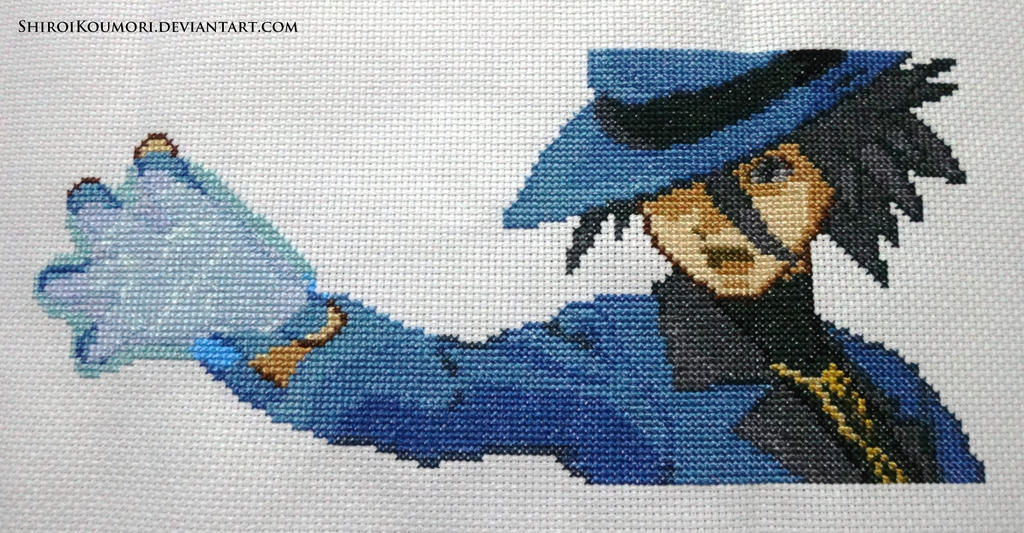 Riley (Pokemon DPPt) Cross Stitch