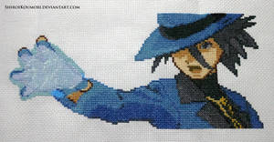 Riley (Pokemon DPPt) Cross Stitch