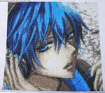 Kaito (Vocaloid) Cross Stitch