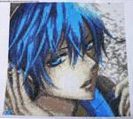 Kaito (Vocaloid) Cross Stitch