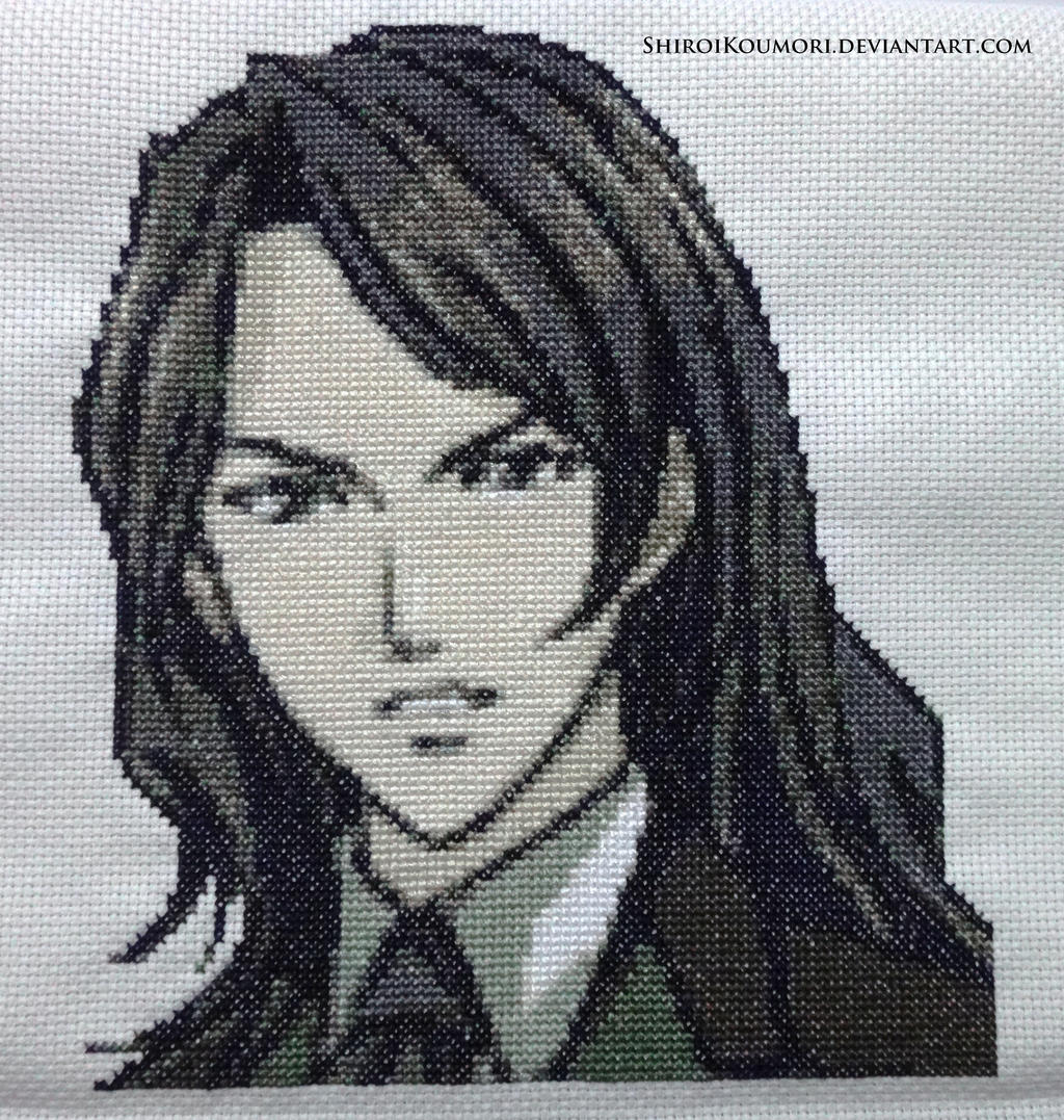 Genya Arikado (Dawn of Sorrow) Cross Stitch