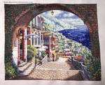 Coastal View Cross Stitch