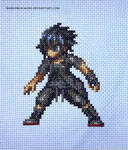 Noctis FFBE Cross Stitch