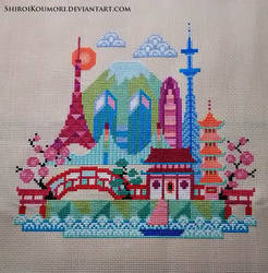 Pretty Little Tokyo Cross Stitch