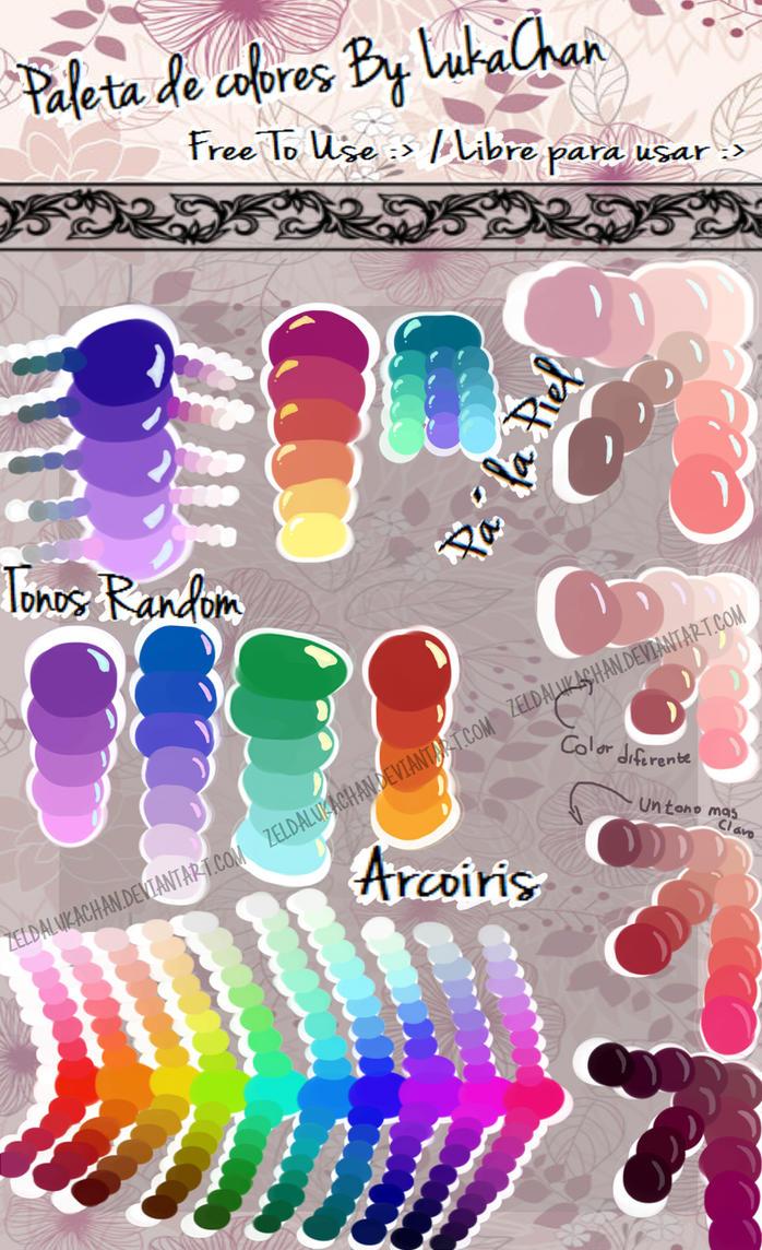 Paleta de colores by lukachan by zeldalukachan on deviantart - Paleta de colores bruguer ...