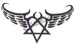 Winged Heartagram