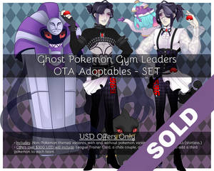 Ghost Gym Leaders - Pokemon Adoptables - CLOSED