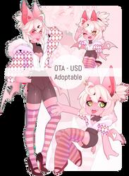 OTA Adoptable - Sweet Pig Bat - CLOSED