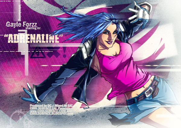Adrenaline- Digital Arts Mag by CoolSurface