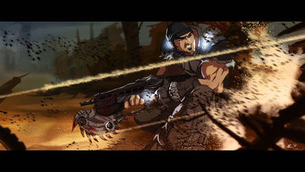 Gears of War - Take Cover by CoolSurface