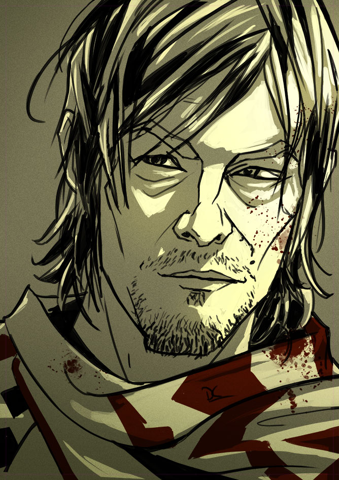 Daryl-Dixon-walking-dead by CoolSurface