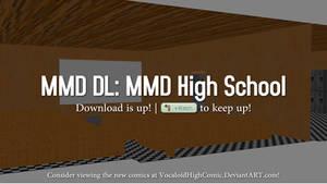 (DOWNLOAD UP!) MMD High School Stage V5.1!