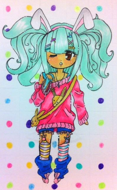 ( CE ) Midori Fairy Kei by Jasmine-Likes-Food