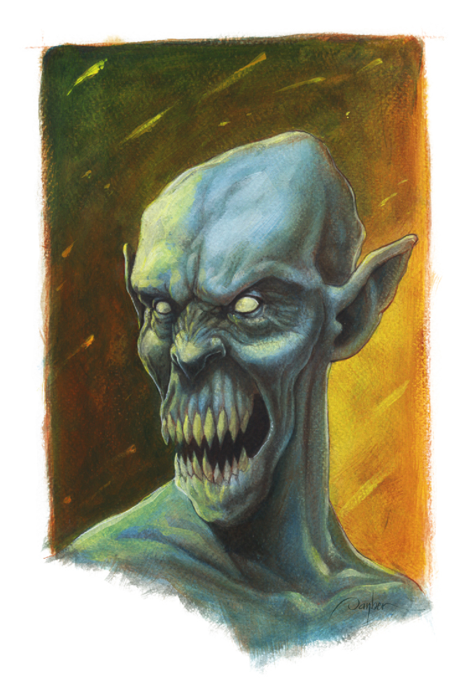 Mutant Vampire Cannibal by imaginante
