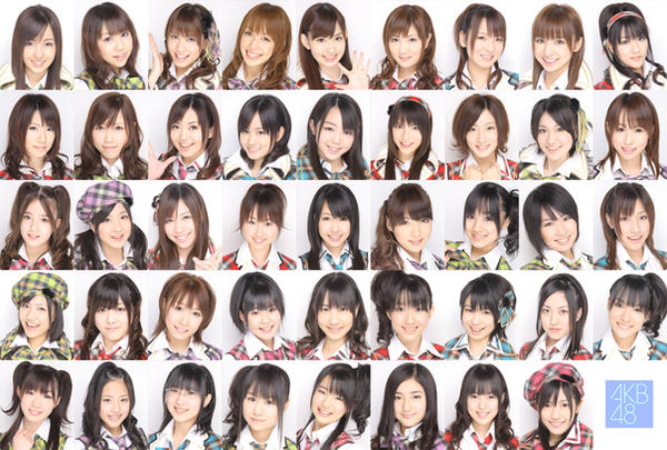 AKB48 by nanachan02