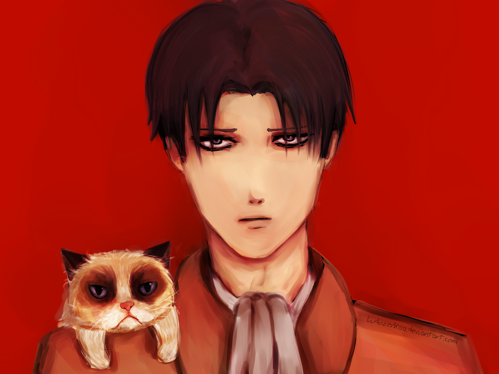 Rivaille pet by Ludozerkaa